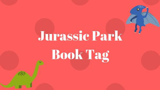 Jurassic Park book tag banner