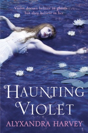 haunting violet cover