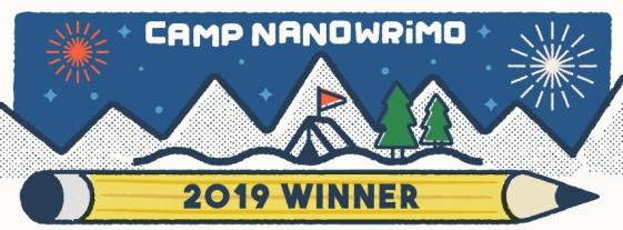 camp nano april 2019 winner pic