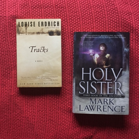 books Tracks and Holy Sister