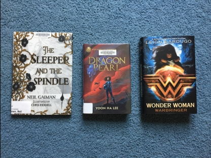 The Sleeper and the Spindle, Dragon Pearl, Wonder Woman: Warbringer