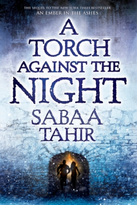 a torch against the night cover